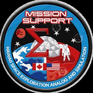 Das Abzeichen unseres Mission Supports.