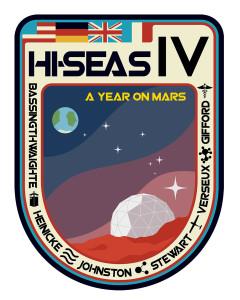Missionsabzeichen der vierten HI-SEAS crew.