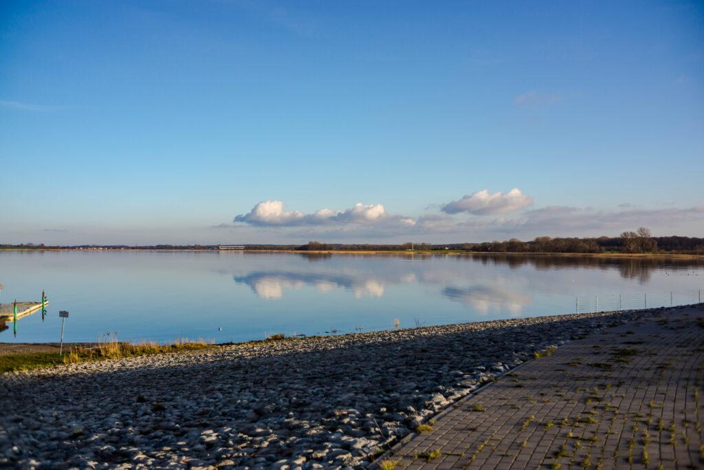 Zierbild: Wolken an der Ostsee.