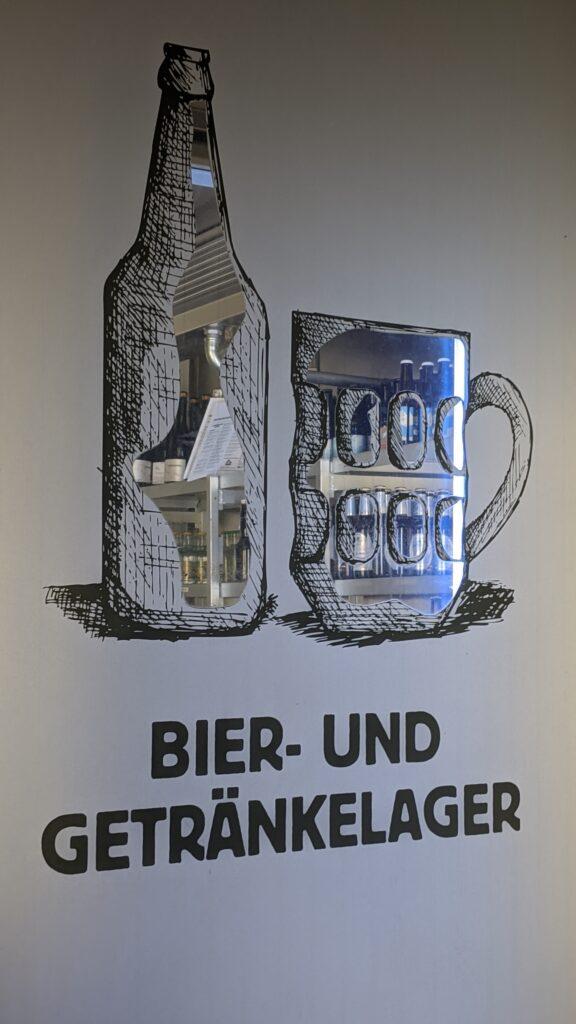 Bier- und Getränkelager