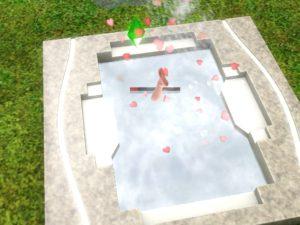 Die Pille verhütet sicher, dachte man. Man kann damit aber auch mal baden gehen... Screenshot: Die Sims 3. EA Games.