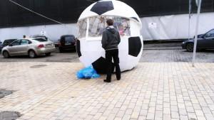 Kiosk-Fussball