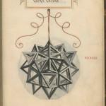 Das gesternte Rhombenkuboktaeder, gezeichnet von Leonardo da Vinci