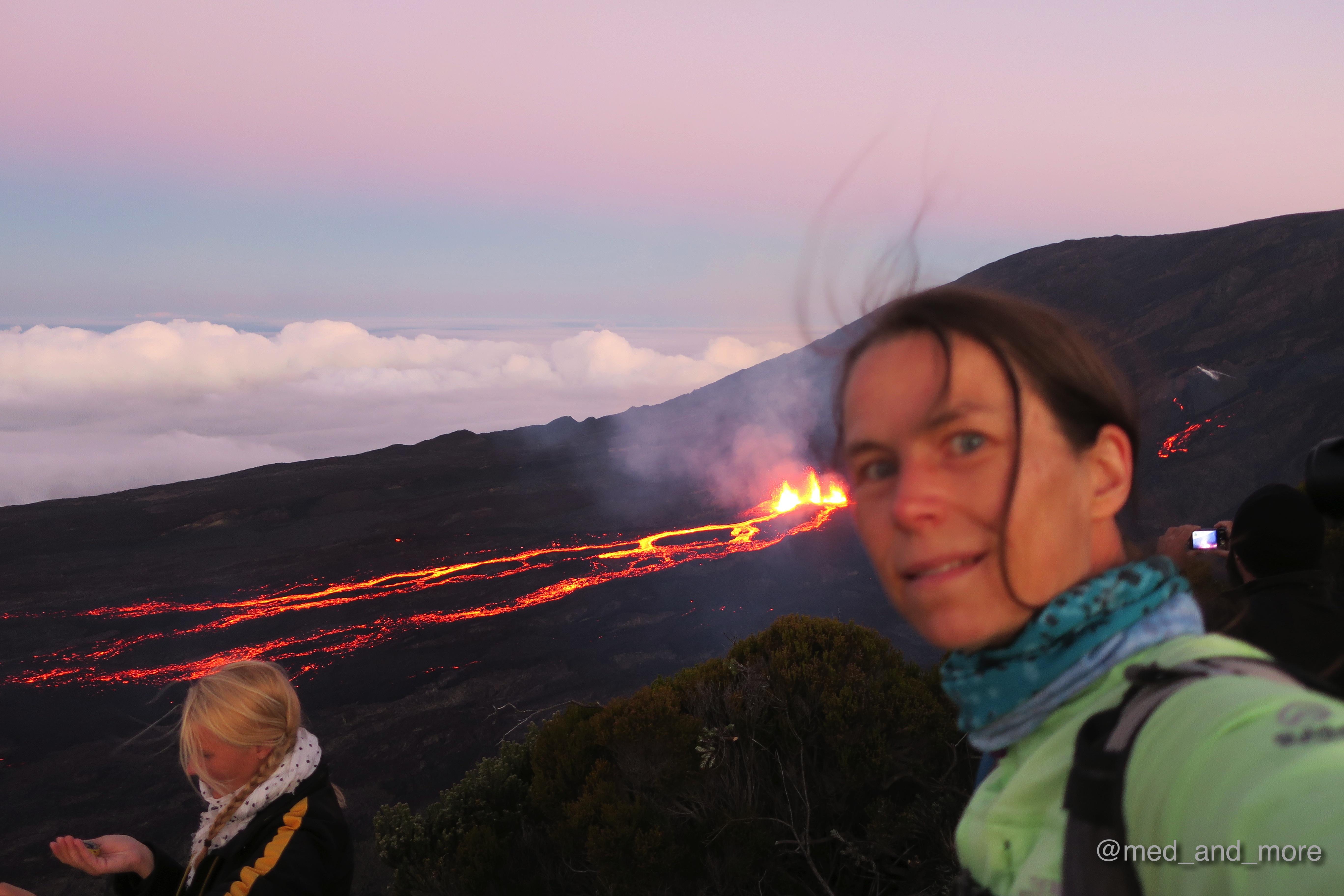 "volcan la pété"" - vulkanausbruch auf la réunion in bildern"