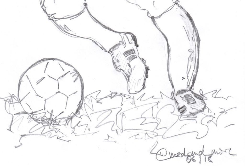 Warum Haben Fussballer O Beine Scilogs Wissenschaftsblogs