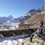 Glück in der Schweiz (für Mensch und Tier): Vom Albulapass zur Es-Cha-Hütte wandern.