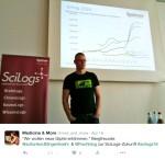 #scilogs16 - Präsentation durch Carsten Könneker