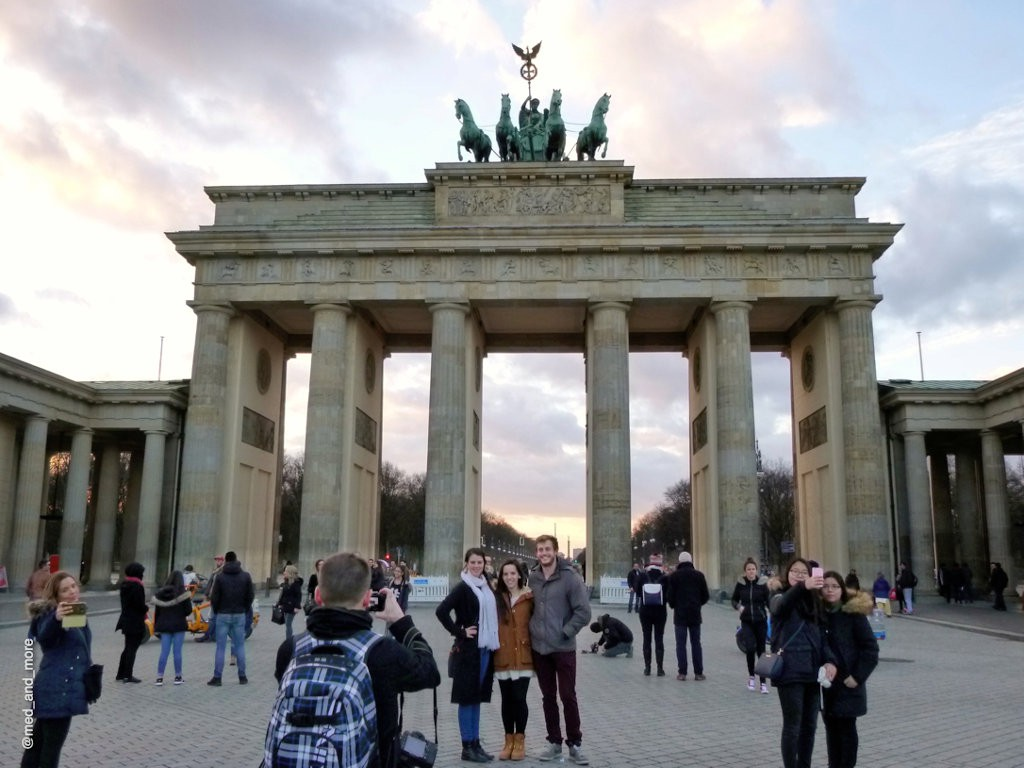Brandenburger Tor Selfies @med_and_more_lzn