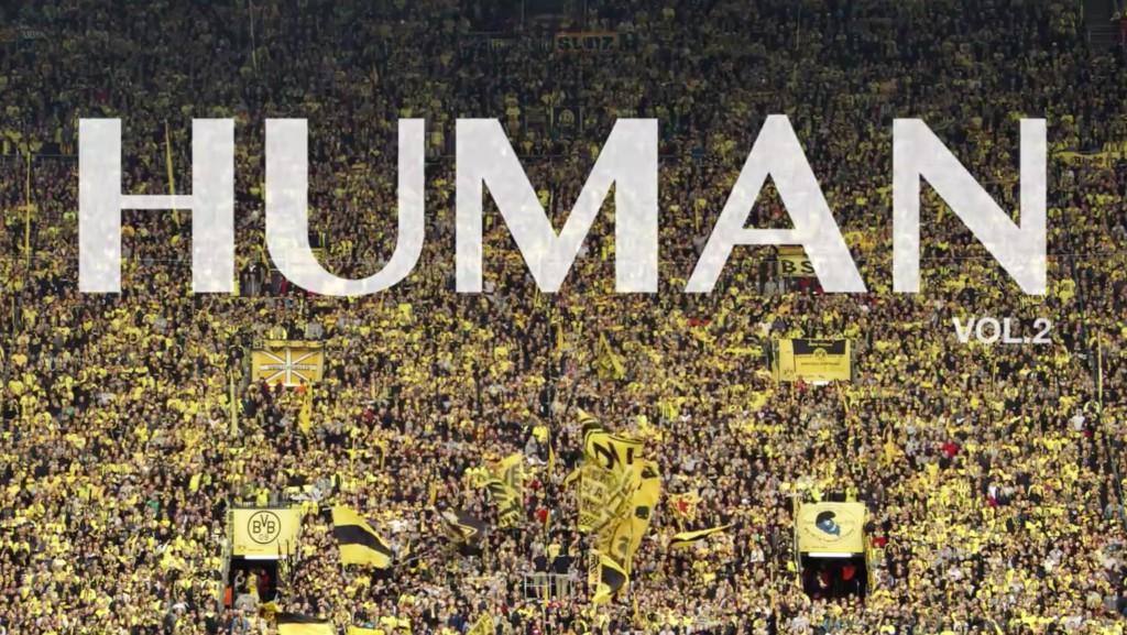 Szene aus HUMAN: Fußball-Fans in Deutschland / Scene from HUMAN: soccer fans in Germany