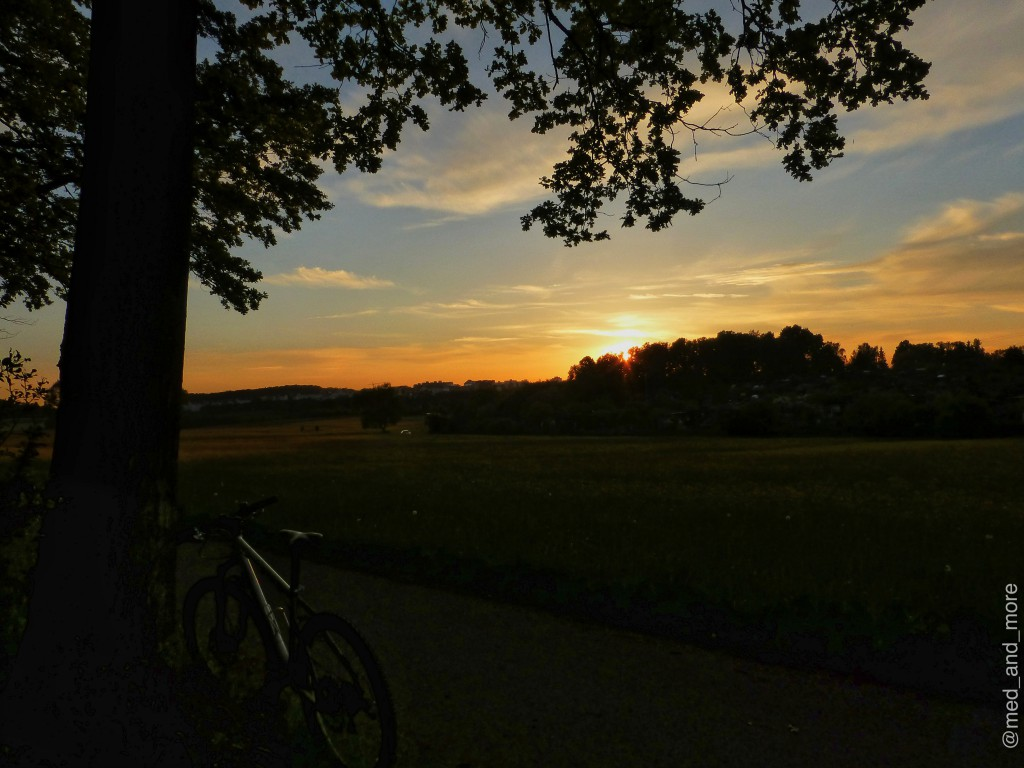 Sonnenuntergang in BB