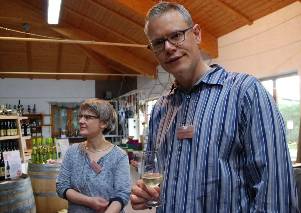 #scilogs16 - Weinprobe mit Antje Findeklee und Carsten Könneker