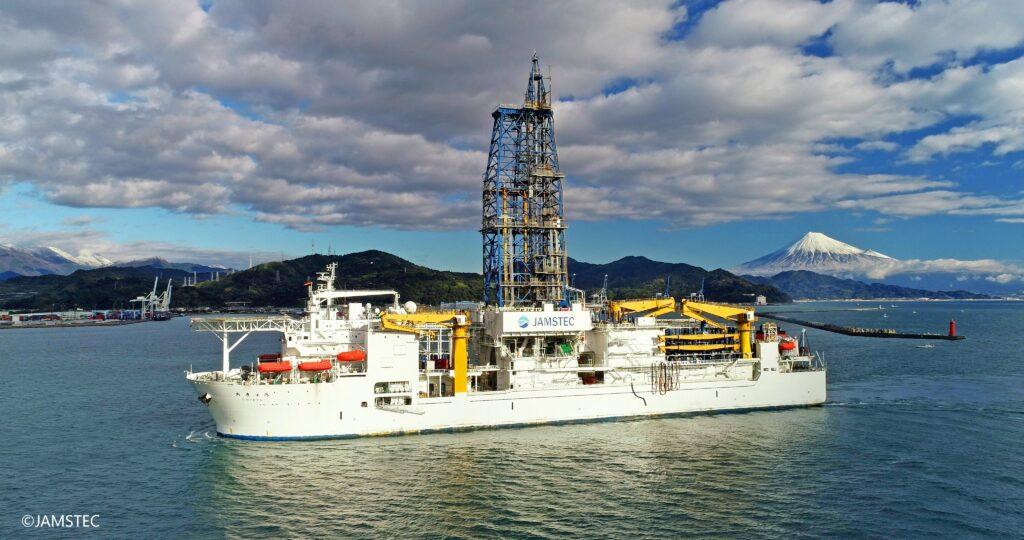 Das Tiefsee-Bohrschiff Chikyu