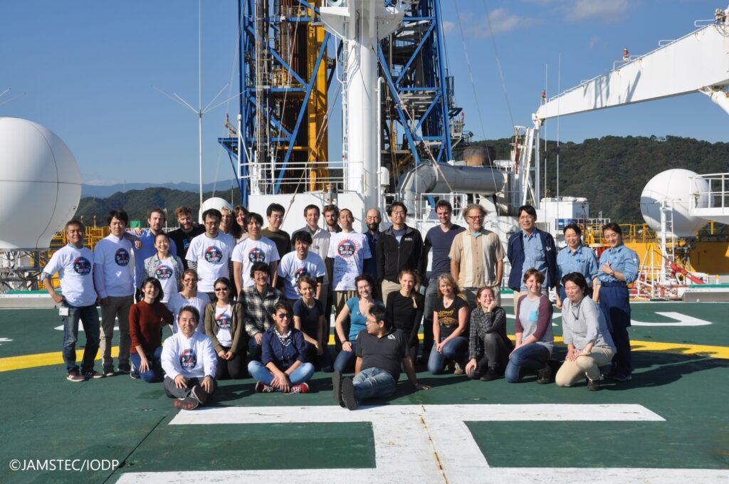 Wissenschaftler*innen der IODP-Expedition 370