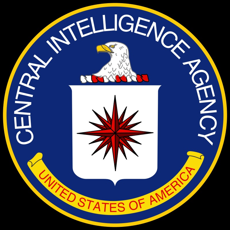 Wappen der CIA, die laut einem Verschwörungsmythos die deutschen Medien beherrscht