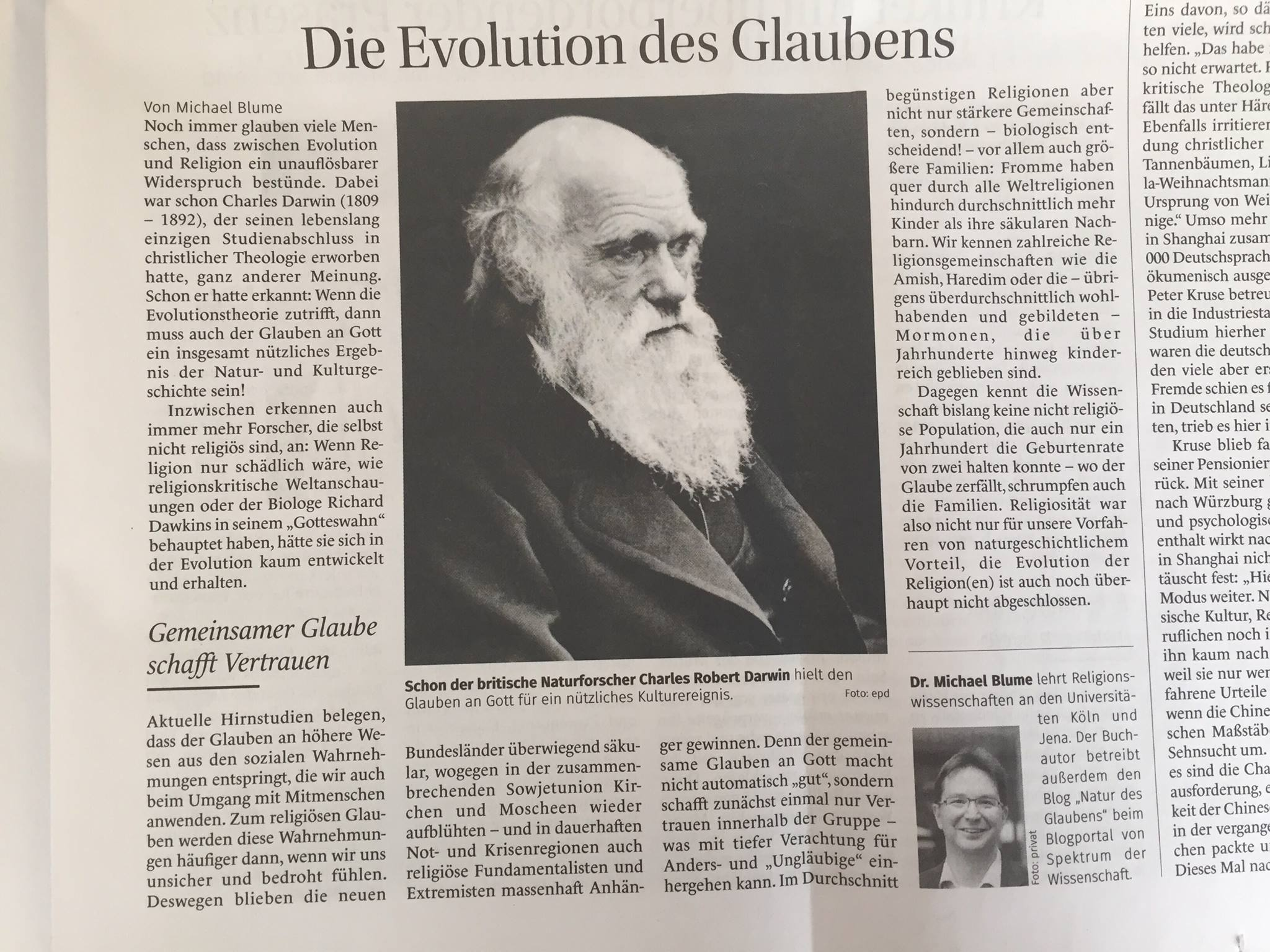 DarwinEvolutionReligionBlume