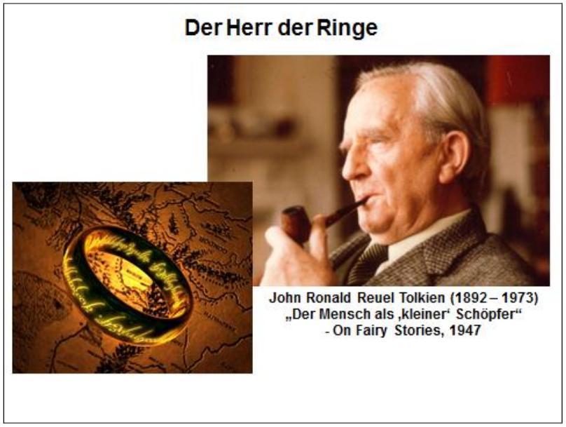 J.R.R. Tolkien: Fantasy als Sub-Schöpfung und christlicher Gottesdienst