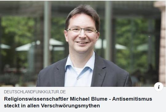 """Interview beim DLF Kultur zu """"Warum der Antisemitismus uns alle bedroht"""" (Patmos 2019)"""