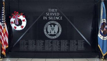 Denkmal der NSA für gefallene Mitarbeiter