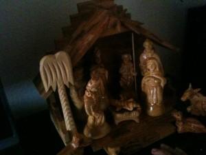 Weihnachtskrippe aus Bethlehem