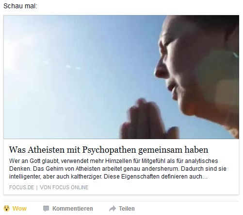 AtheistenPsychopathenFOCUS2016