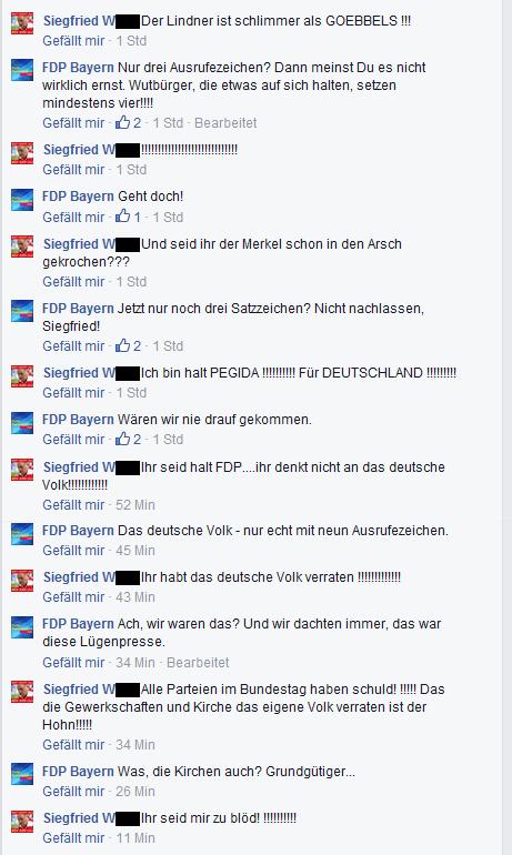 FDPBayernPegida