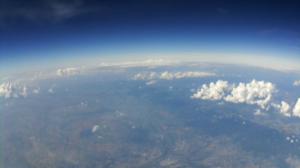 Sicht aus 10km Höhe © Kevin Gräff