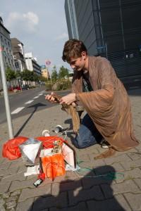 Sonde gefunden vor der Wasserschutzpolizei © Andreas Kunz