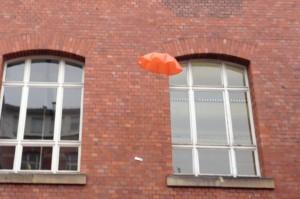 Test des Fallschirms