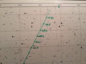 Sternkarte Pallas