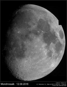 Mondmosaik vom 12.09.2016