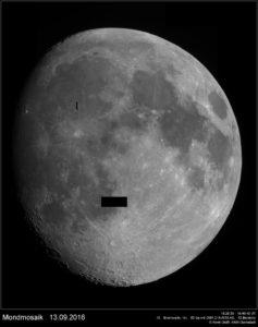 Mondmosaik vom 13.09.2016
