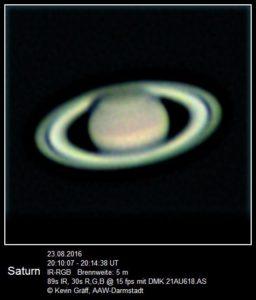 Saturn vom 23.08.2016