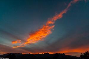 Minaret Rocks bei Sonnenuntergang