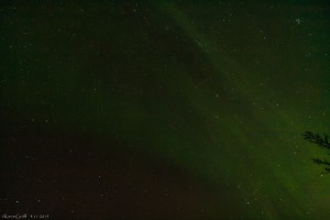 Ein Bolide erzeugte eine ganz andere Aurora!