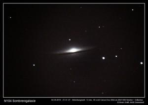 M104 mit 2x Barlowlinse