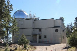 Das Vatican Advanced Technology Telescope (VATT) auf Mount Graham.