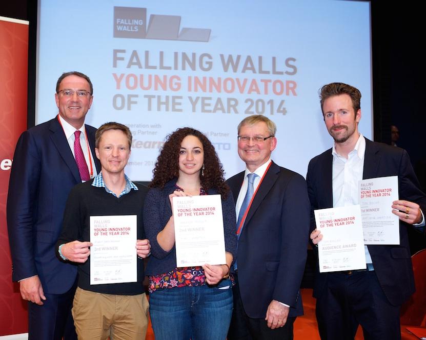 Gratulation an die Falling Walls Lab 2014 Preisträger
