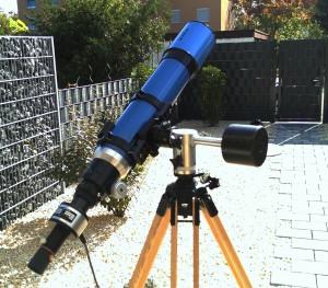 Daystar - Erster Testaufbau