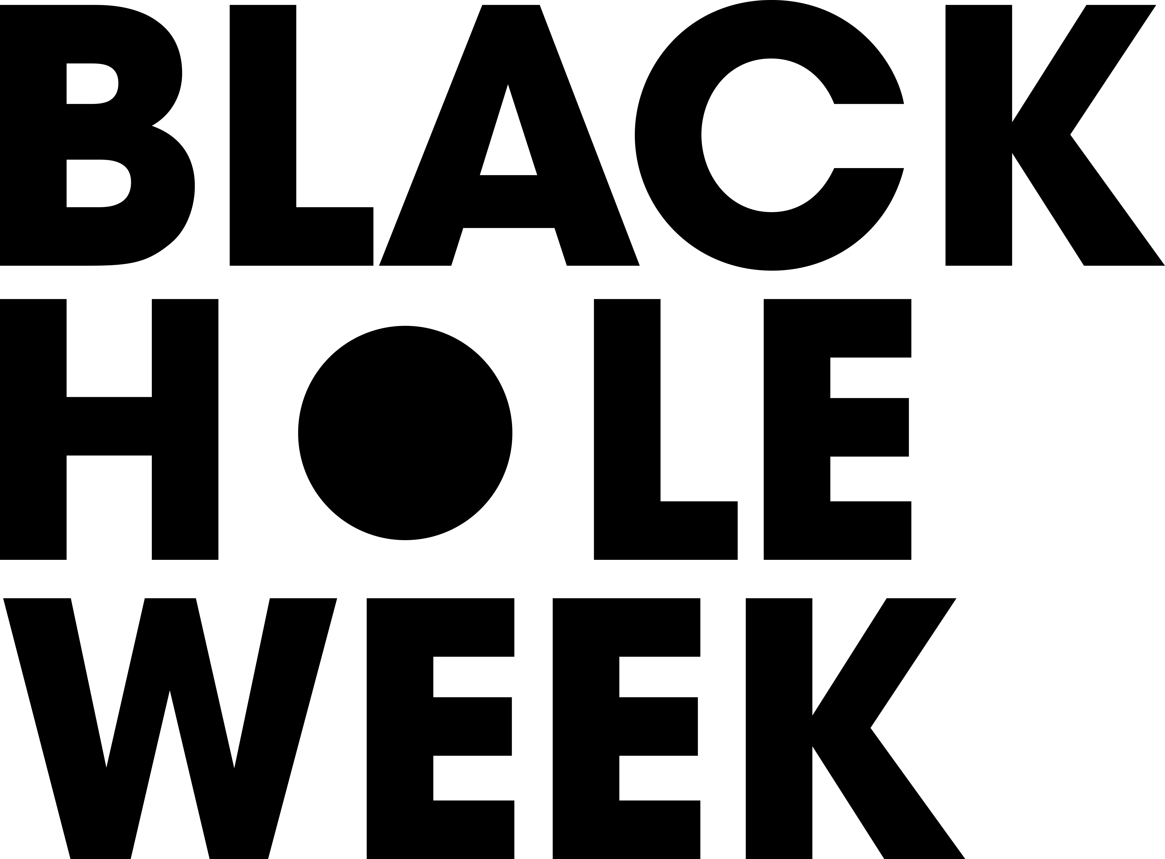 Logo der Black Hole Week