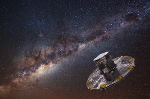Astroinformatik umfasst auch lernende Maschinen - etwa für die hier abgebildete Gaia-Mission.