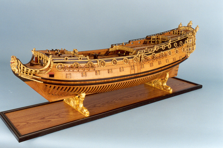 HMS_Sussex_model_port_broadside_hr Modelle ganz konkret: Schiffsmodell