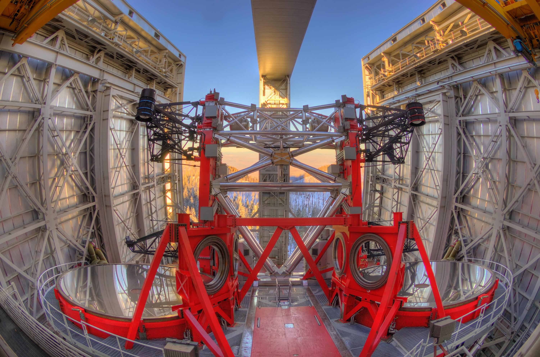 Wie baut man große teleskope relativ einfach scilogs
