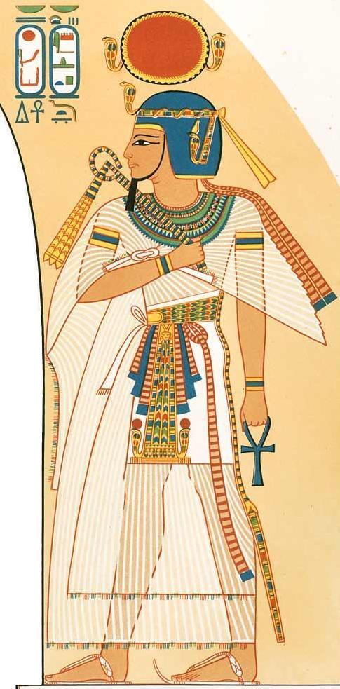 Lepsi_amenhotep_I Abstraktere Modelle: Ägyptische Kunst
