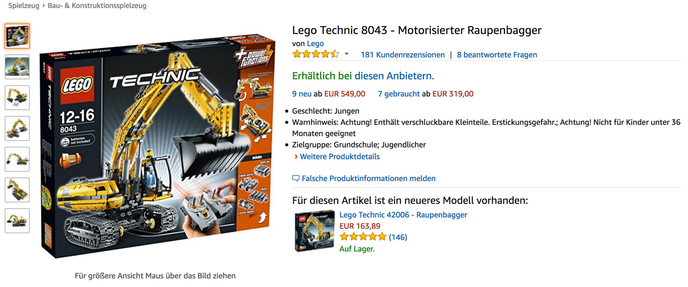 Lego Technic. Geschlecht: Jungen