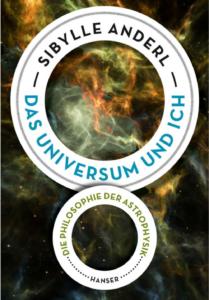 """Vordere Umschlagseite von """"Das Universum und ich"""" von Sibylle Anderl"""