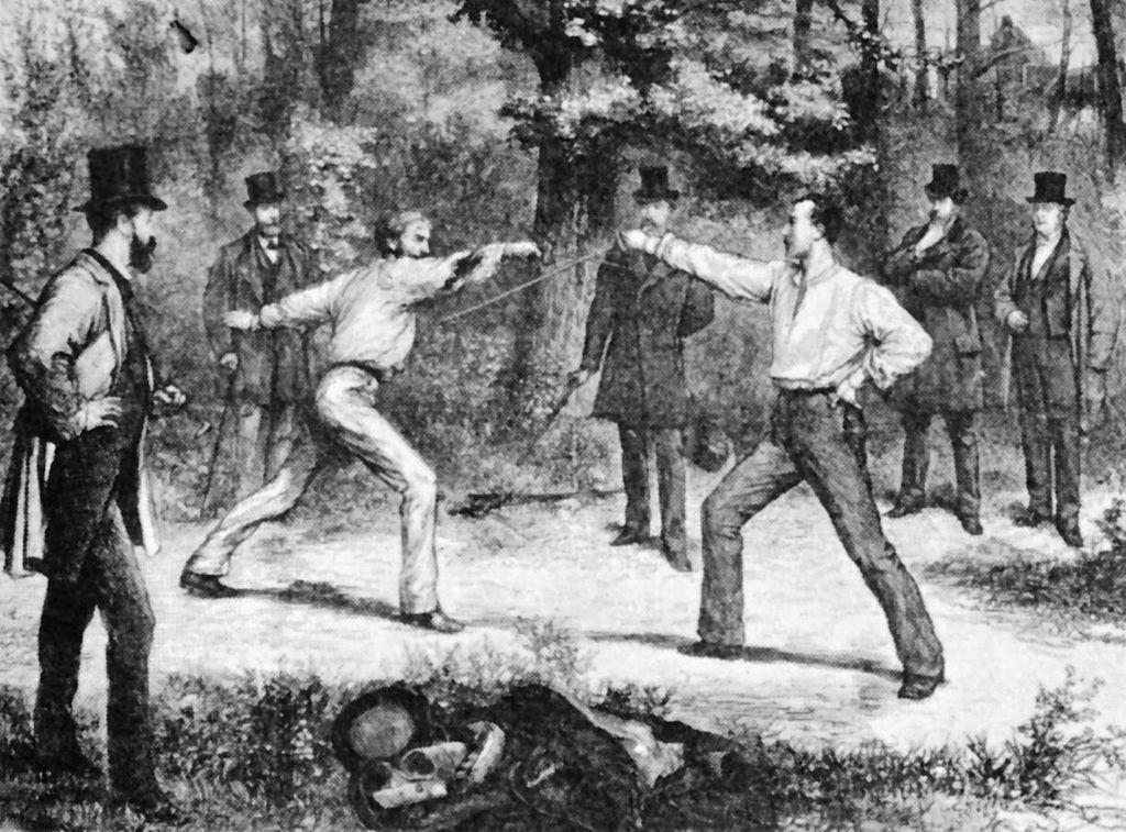 Für Duelle gab es früher Regeln. Für kontroverse Diskussionen gibt es keine.
