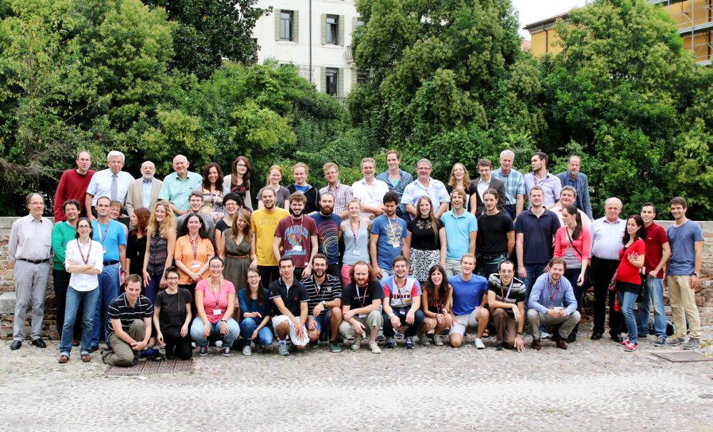 Erfolgreicher Austausch in vielerlei Hinsicht: Gruppenfoto der deutsch-italienischen WE Heraeus-Sommerschule 2016
