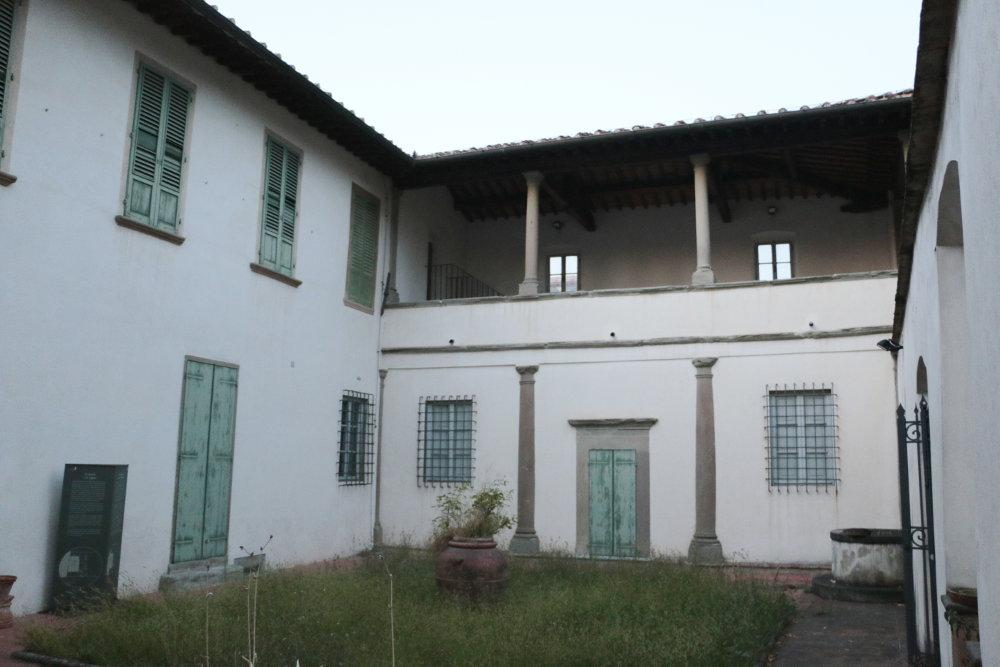 Die Villa Gioiello, in der Galileo die letzten Jahre seines Lebens verbrachte