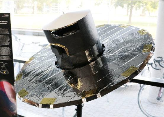 Modell des ESA-Satelliten Gaia
