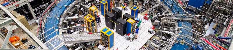 Der magnetische Speicherring am Fermilab, Herzstück der neuen Messungen
